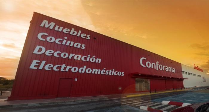 Conforama abre su primera tienda en castell n marr n y blanco - Catalogo conforama alicante ...