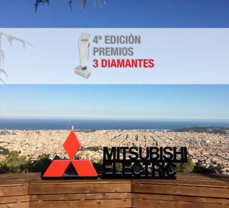 """4ª edición de los """"Premios 3 Diamantes"""" de Mitsubishi Electric,"""