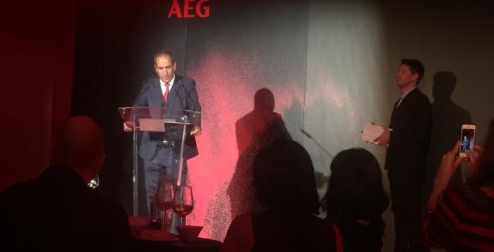 AEG celebra su 130 aniversario y presenta novedades en todos los frentes