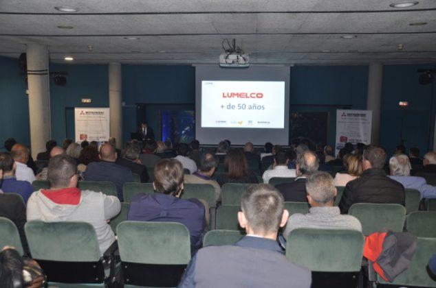 Acto Lumelco da a conocer la envergadura de Mitsubishi Heavy Industries a sus clientes de Catalunya