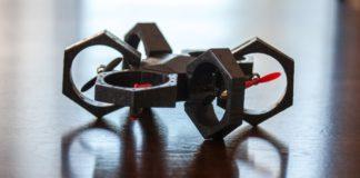 Airblock, el primer robot educativo para tierra, agua y aire de SPC, en tierra