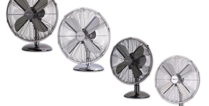 Aire fresco y sin complicaciones con los nuevos ventiladores Nevir