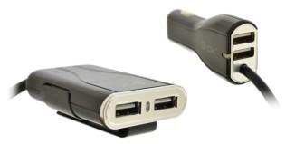 BLUS98 de 4-OK by Blautel carga todos los dispositivos en el coche a la vez
