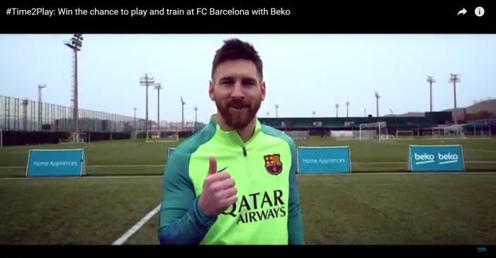 Beko, con los mejores jugadores del Barça en su nuevo vídeo