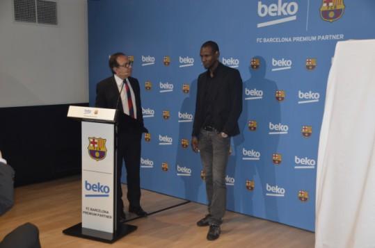 Beko presenta la nueva gama de frigoríficos Beko-Barça