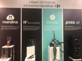 Carrefour lanza cuatro marcas exclusivas de electrodomésticos y electrónica de consumo