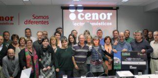 Cenor, foto grupo, recaudación Axauli
