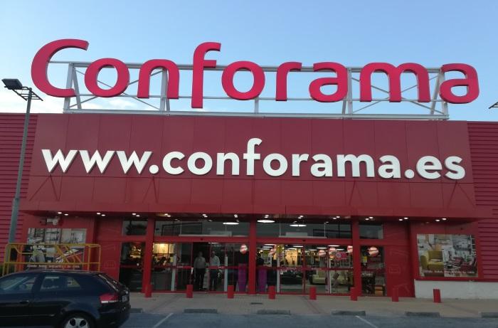 Conforama inaugura su primera tienda en murcia marr n y blanco - Catalogo conforama alicante ...