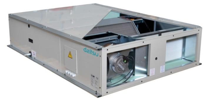 Daitsu lanza los nuevos recuperadores de calor de alta eficiencia HRD EC