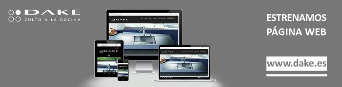 Dake lanza una nueva página web