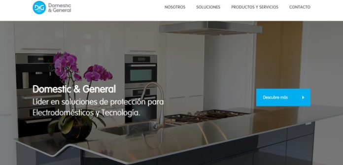 Domestic And General España presenta su nueva web