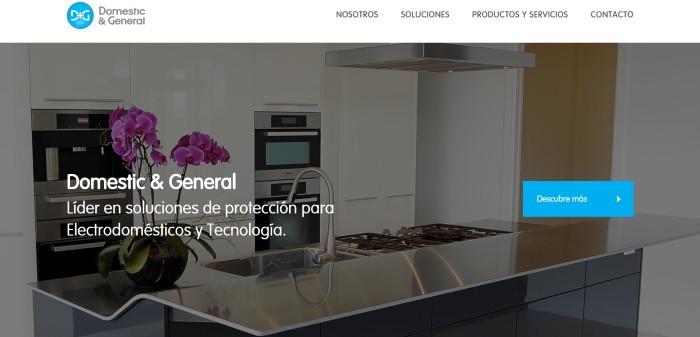 Domestic And General España presenta su nueva web