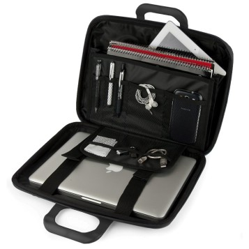 E-Vitta EVA Laptop Bag Carbon, abierto