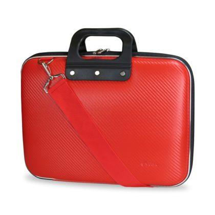 E-Vitta EVA Laptop Bag Carbon, en rojo