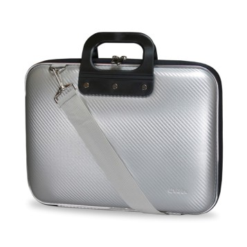 E-Vitta EVA Laptop Bag Carbon, en silver
