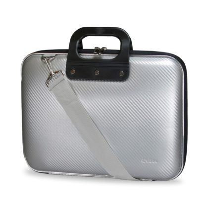 E-Vitta EVA Laptop Bag Carbon, en silver