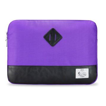 E-Vitta Heritage Sleeve protege al portátil con estilo, en lila y negro