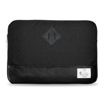 E-Vitta Heritage Sleeve protege al portátil con estilo, en negro