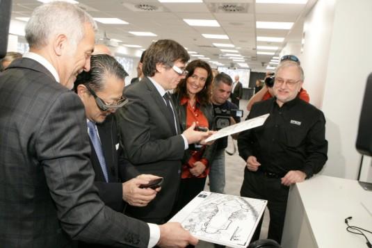 EPSON Inauguracion Sant Cugat