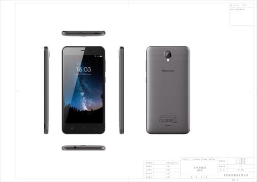 El 016 ya no deja rastro en los móviles Hisense, modelo F10
