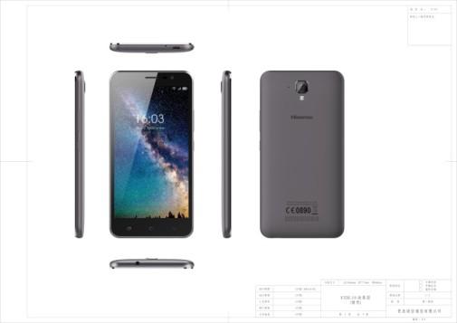 El 016 ya no deja rastro en los móviles Hisense, modelo F22