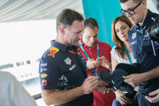 El Hisense Red Bull Team, tercero en la clasificación final del Gran Premio de España de F1