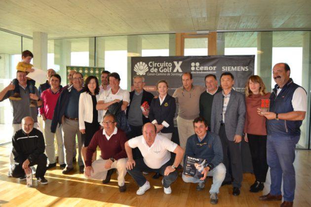 El Real Aeroclub de Santiago acoge la segunda prueba del X Circuito de golf Cenor-Camino de Santiago,