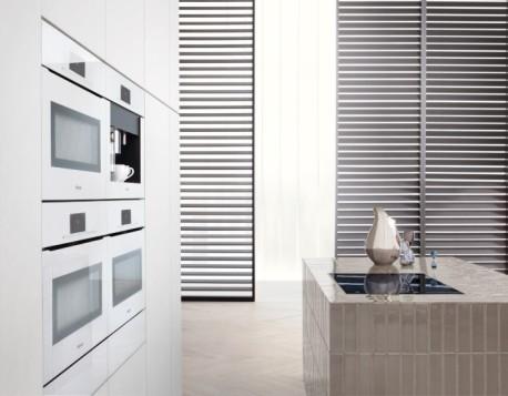 Electrodomésticos sin tirador ArtLine de Miele, para una perfecta integración en el hogar, imagen ambiente