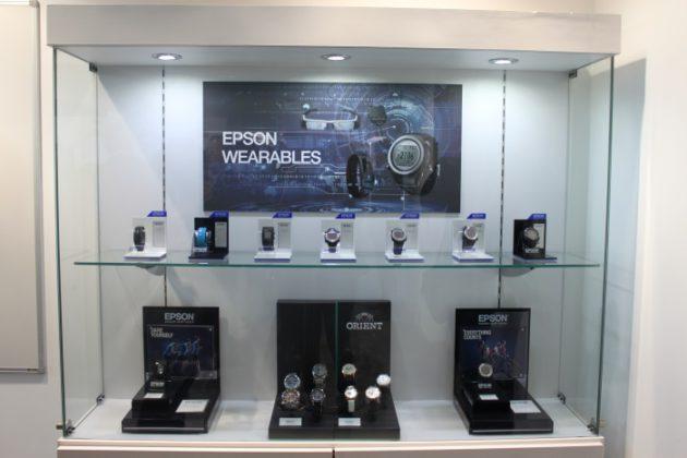 Epson wearables