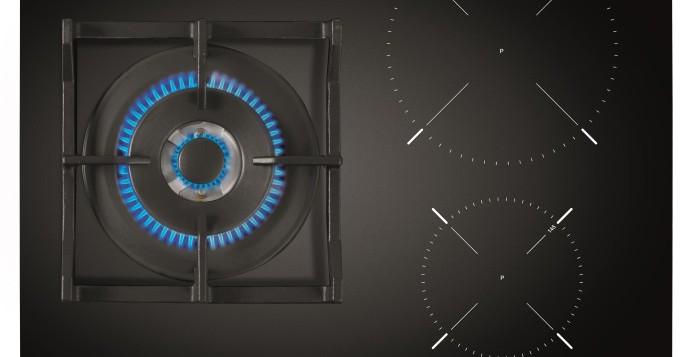 Gas e inducción en la nueva placa Twin IG 620 1G de Teka