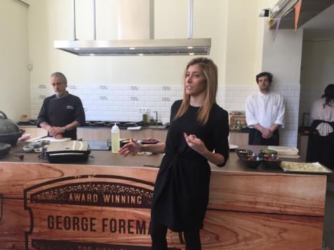 George Foreman vuelve al mercado español