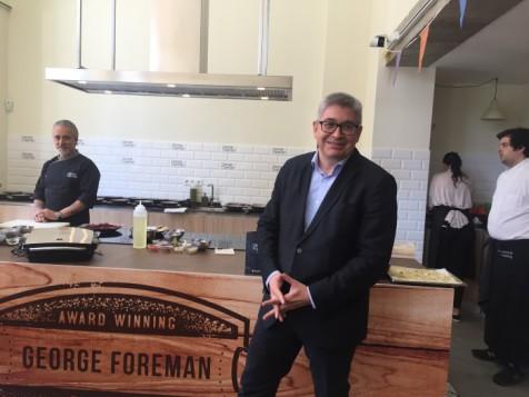 George Foreman vuelve al mercado español para liderarlo