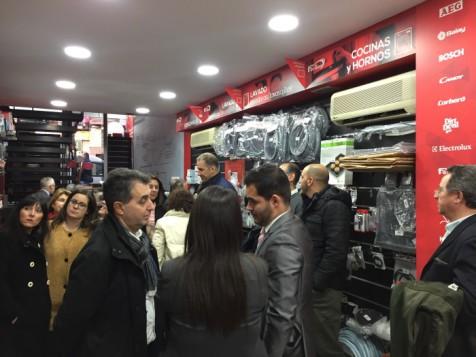Imagen inauguración tienda Fersay en Madrid