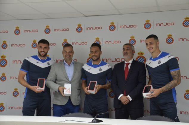 InnJoo renueva por cuatro temporadas más el patrocinio del RCD Espanyol,