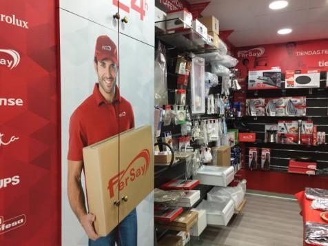 Interior nueva tienda Fersay en Madrid