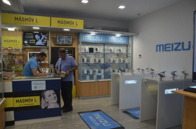 Interior tienda Meizu