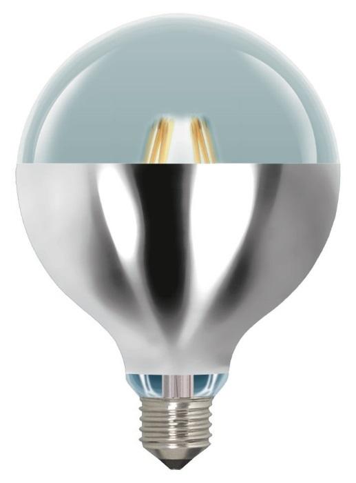 LAES presenta su nueva gama de lámparas de filamento LED, G125 reflector color