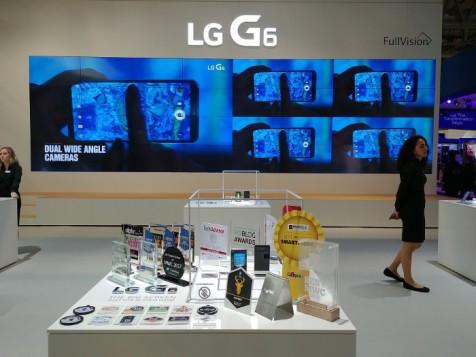 LG G6 gana 31 premios en el MWC 2017