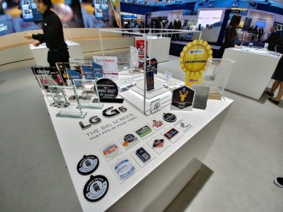LG G6 gana 31 premios en el Mobile World Congress 2017