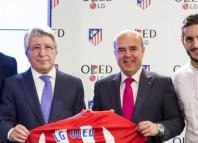 LG OLED nuevo proveedor tecnológico del Atlético de Madrid
