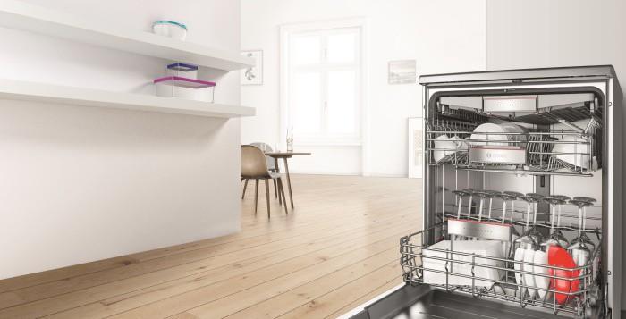La vajilla más seca y más limpia con los lavavajillas con Zeolitas de Bosch