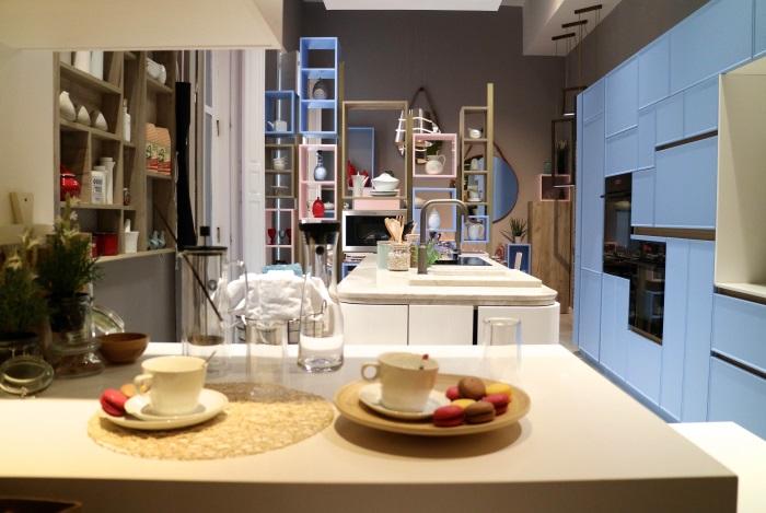 AEG equipa las cocinas de Línea 3 y Dica en Casa Decor | Marrón y Blanco