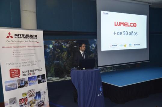 Lumelco da a conocer la envergadura de Mitsubishi Heavy Industries a sus clientes de Catalunya