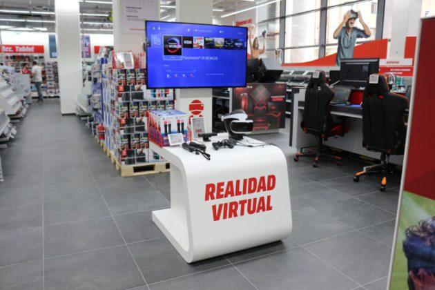 MediaMarkt Preciados abre hoy sus puertas en pleno centro de Madrid, zona realidad Virtual