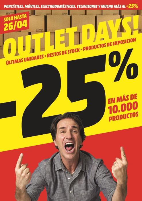 "MediaMarkt celebra por primera vez los ""Outlet Days"""
