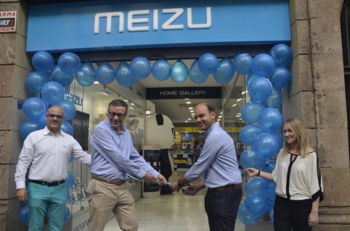 Meizu abre su centro experiencial más emblemático en Barcelona