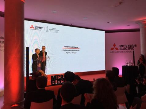 Mitsubishi Electric celebra la tercera edición de sus Premios 3 Diamantes, intervenciones