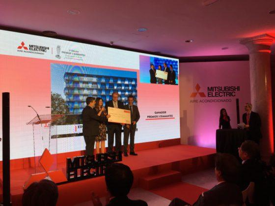 Mitsubishi Electric celebra la tercera edición de sus Premios 3 Diamantes, premiados