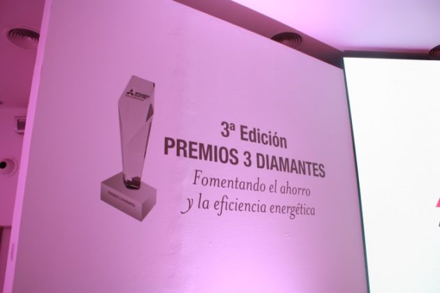 Mitsubishi Electric celebra la tercera edición de sus Premios 3 Diamantes, rótulo