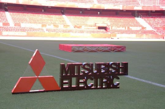 Mitsubishi Electric se reúne con sus de la zona sur en el estadio Sánchez-Pizjuan